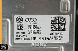 15-17 Audi A8 S8 Gauche Côté Conducteur Complet Led Matrix Phare Xénon Oem