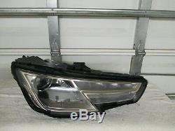 2017,2018 Audi A4, S4 Droit LED Halogène Phare Avant (OEM)