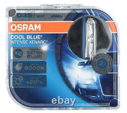 2X D3s Xenon Lampe Brûleur Osram Cool Bleu Intense Phares Xenarc Poires