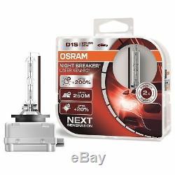 2 Ampoules D1s Osram Xenarc Night Breaker Laser 200% D'eclairage + Xenon 35w