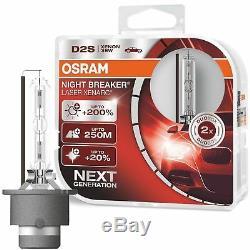 2 Ampoules D2s Osram Xenarc Night Breaker Laser 200% D'eclairage En Plus Xenon