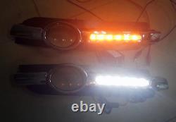 2 Feux De Jour à Led + Clignotant à Led Pour Audi A6 C6 De 2005 2008