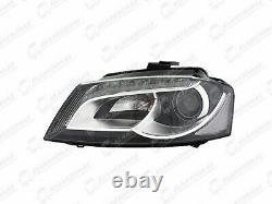 A3 2008 2012 Phare Avant Lampe Électrique Xénon LED DRL Gauche pour Audi