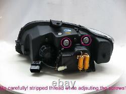 A4/S4/RS4 B7 8E/8H 05-09 LED Feux Avant Phare WithO Motor Black V1 for AUDI LHD