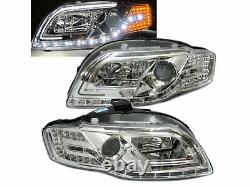 A4/S4/RS4 B7 8E/8H 05-09 Projector LED R8Look Feux Avant Phare CH for AUDI LHD