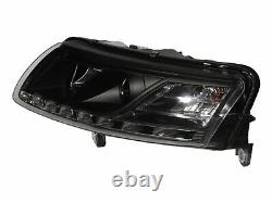 A6 C6 4F MK3 2004-2008 4D/5D R8Look LED Bar HID Feux Avant Phare for AUDI LHD