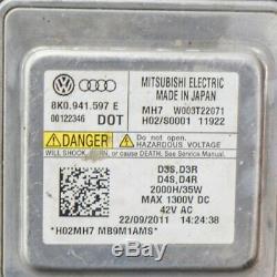 AUDI A7 Sportback 4G8 3.0 Tdi avant Droit LED Phare Xénon 4G8941006 2011 LHD