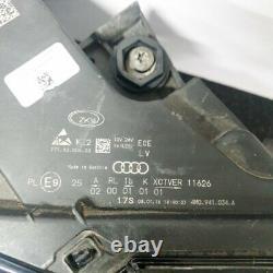 AUDI Q7 4M 3.0 Tdi avant Droit LED Headllight 7PP941572AB 4M0941034A Rhd 2016