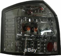 Adapté à Audi A4 B6 avant 09/01-10/04 Feux Arrière Lampes Led Fumé