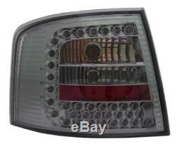 Adapté à Audi A6 avant C5 4b 3/98-2/04 Feux Arrière Noir Fumé Led Paire