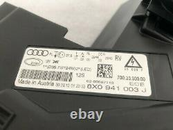Audi A1 S1 8X Phares Avant à Gauche LED Bi-Xénon 8X0941003J Original