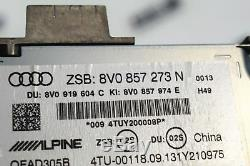 Audi A3 8V Cabriolet Écran Affichage Mmi Système Multimedia GPS 8V0857273N
