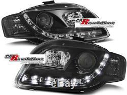 Audi A4 B7 Phares LED en Noir