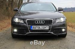 Audi A4 B8 A6 C6 Q5 Cris Chip avec 10 Watt Cris SMD LED Phares Antibrouillard