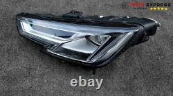 Audi A4 B9 Optique Phare Droite Full Led 8w0941033 En Parfaite Etat