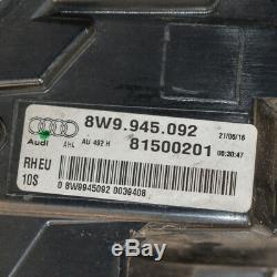Audi A4 avant Arrière Droite Côté Feu Arrière LED B9 8W9945092 2017