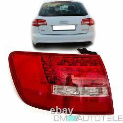 Audi A6 4F C6 Avant LED Feux arrière Extérieur gauche Facelift blanc rouge 08-10