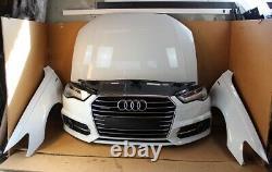 Audi A6 4G 3.0 TFSI Frontpaket Avant Pare-Chocs Capot LED Acc Blanc LS9R