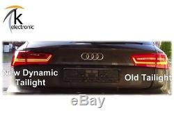 Audi A6 4g avant Facelift Led-Heckleuchten Feux Arrière Dynamique Clignoteur