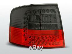 Audi A6 C5 4B avant LED Feux Arrières en Rouge Mat