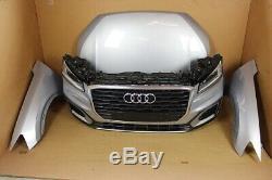 Audi Q2 Ga 81A 2.0 Tdi avant Frontpaket Phares LED Capot Pare-Chocs