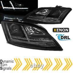Audi Tt 8J LED Xenon Phare avant Set Dynamique Clignotant 8S Regardez Noir DRL