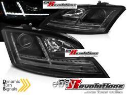 Audi Tt 8J Phares LED Dynamique Clignotant 8S Regardez Noir Halogène