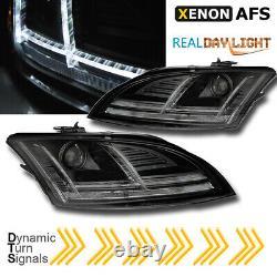 Audi Tt 8J Xenon LED Feux Phares Dynamique Clignotant 8S Regardez Noir