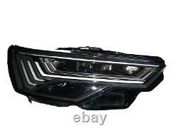 Audi a6 c8 4k Front Light Phare droit LED Matrix 4k0941036