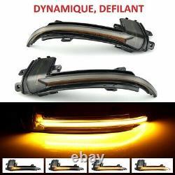 CLIGNOTANTS LED DYNAMIQUE AUDI A4 8K B8 8k2 8K5 BERLINE AVANT 6/2009-5/2015 NOIR