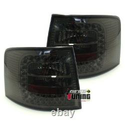 FEUX ARRIERES à LED FUMES AUDI A6 C5 / 4B de 1997 à 2004 AVANT / BREAK (13918)