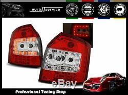 Feux Arriere Ensemble Ldau34 Audi A4 2000 2001 2002 2003 2004 Avant Led Red