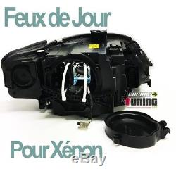 Feux Phares Avants De Jour Diurnes Drl Led Audi A4 B7 8h Au Xenon (04518)