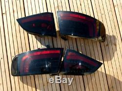 Feux arrière LED Dectane Audi A4 B8 8K Avant rouge/noir