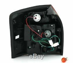 Feux arrières à LED set en FUMÉE ROUGE pour AUDI A4 Avant 8E B6 break combi
