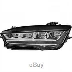 Hella LED Phare à gauche pour Audi A7 Sportback 4GA 4GF Année Fab. 07.14-