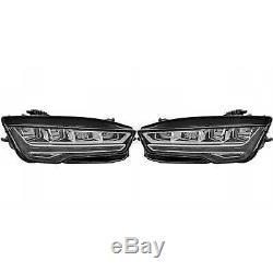 Hella LED Phare avant Set pour Audi A7 Sportback 4GA 4GF Année Fab. 07.14-