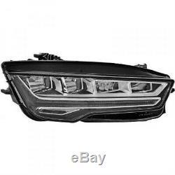 Hella Phares LED Droit pour Audi A7 Sportback 4GA 4GF Année Fab. 07.14-