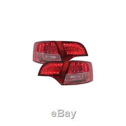 Kit Feux Arriere Litec Led Audi A4 Avant B7 04-08 Rouge