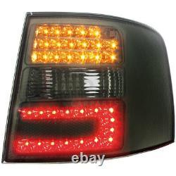 LED 2 X Feux Arrière pour Audi A6 Avant 4B 12.97-01.05 Fumee