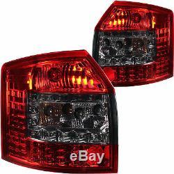 LED Feux Arrière Rouge Fumee Noir pour Audi A4 avant Kombi Type 8E B6 00-04