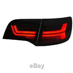LED Lightbar Feux Arrière Audi A6 4F avant Année Fab. 2004-2011 Noir / Fumee