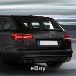LED Lot de Feux Arrière Intérieur pour Audi A6 4F avant Ab Année Fab. 10/2008