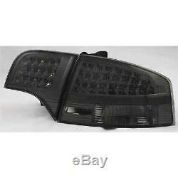 LED avant & Arrière Feux pour Audi A4 B7 Berline Année Fab. 04-08 Transparent