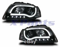 Lti Light-Tube Phares Audi A3 8P Noir Bande Lumineuse LED Feux