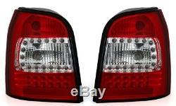 NEUF! Feux arrières pour AUDI A4 B5 1994-2001 AVANT Rouge Blanc LED FR LDAU93EI