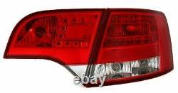 NEUF Feux arrières pour AUDI A4 B7 2004-2008 AVANT Rouge Blanc LED FR LDAU37-ED