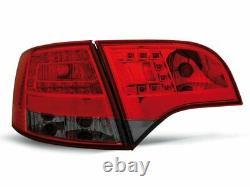 NEUF Feux arrières pour AUDI A4 B7 2004-2008 AVANT Rouge Fumée LED FR LDAU38-ED