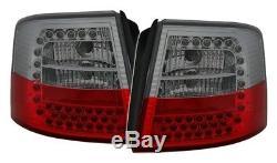 NEUF! Feux arrières pour AUDI A6 C5 4B 1997-2004 AVANT Rouge Fumée LED TUNING FR