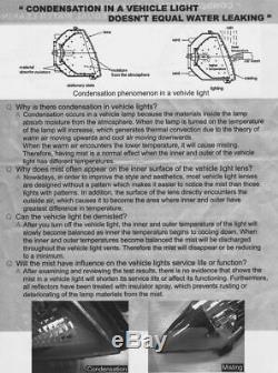 NEUF Feux arrières pour AUDI A6 C5 4B 1997-2004 AVANT Rouge Fumée LED TUNING FR
